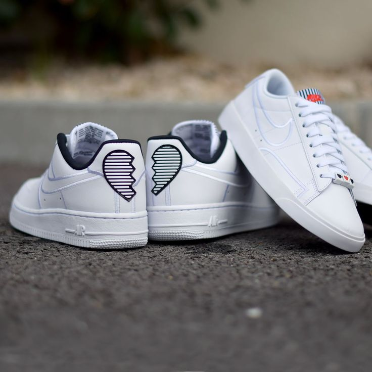 Nike Valentine's Day Pack 2018 . Nike W Air Force 1 Low Nike W Blazer Low