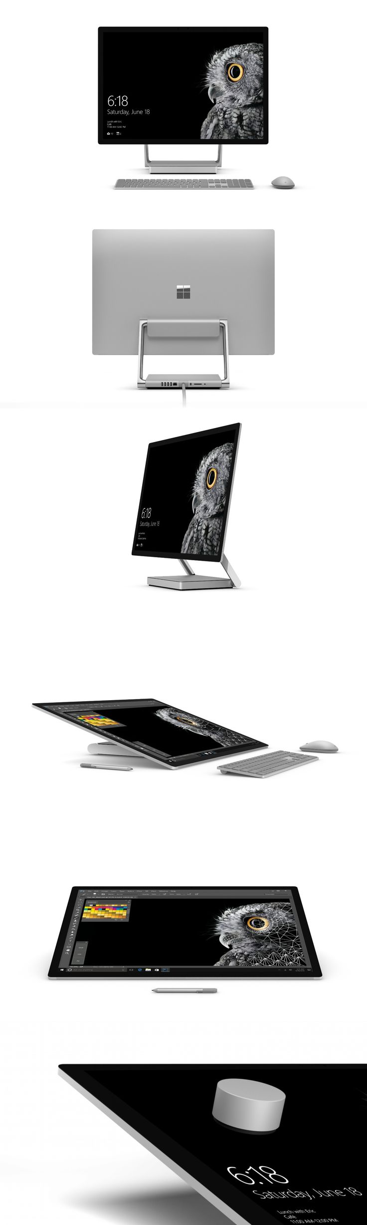 Microsoft Surface Studio. Want so bad! Some day when I have more disposable income and fewer bills