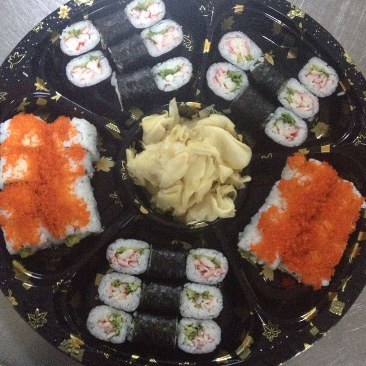 Sushi plate...#cicekavanusfoodstyling