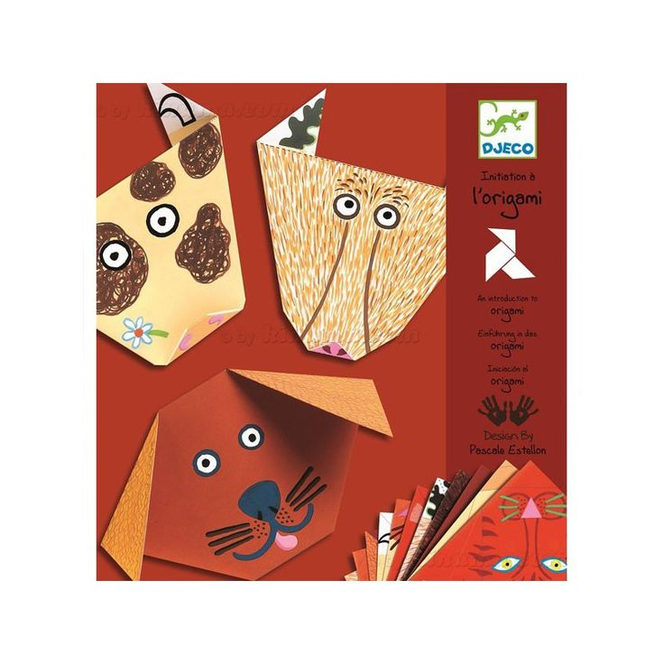 Papiroflexia Origami - Animales Djeco Kinuma.com