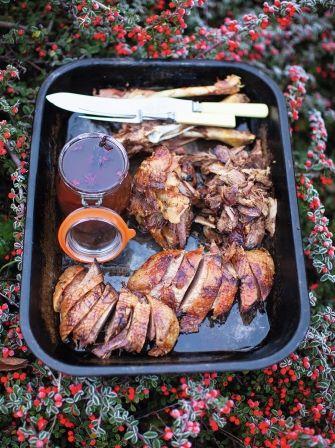 Jamie Oliver's Roast Goose