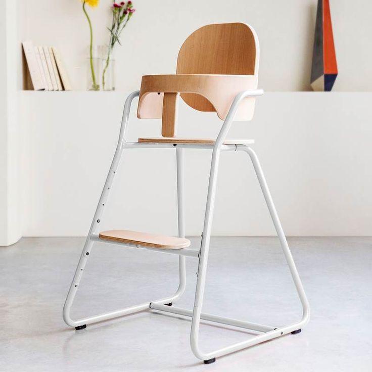 charlie crane tibu weiss kinderhochstuhl kidswoodlove. Black Bedroom Furniture Sets. Home Design Ideas