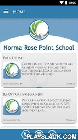 Norma Rose Point School  Android App - playslack.com ,  The Norma Rose Point School app by SchoolInfoApp enables parents, students, teachers and administrators to quickly access the resources, tools, news and information to stay connected and informed!The Norma Rose Point School app by SchoolInfoApp features:• Important news and announcements• Teacher notifications• Interactive resources including event calendars, maps, a contact directory and more• Student tools including My ID, My…