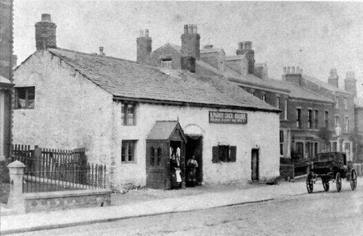 Michael Parker's premises, Church Street 1895