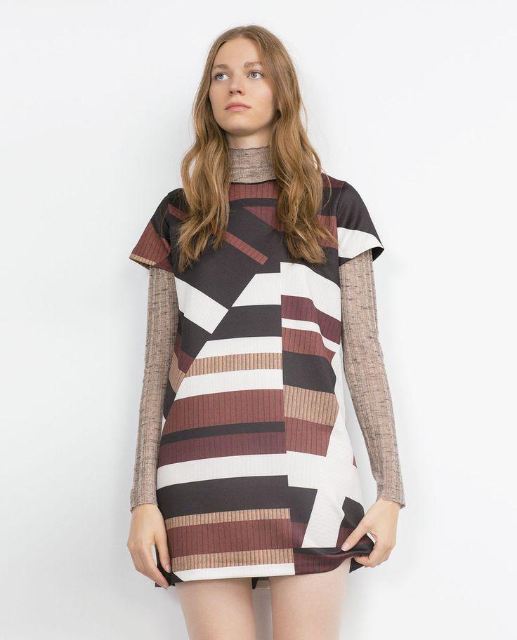 GEOMETRIC DRESS-View all-Woman-NEW IN | ZARA United States