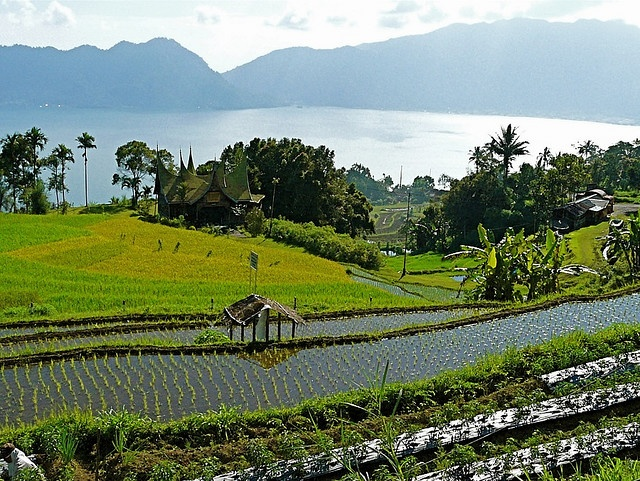 Maninjau Lake, West Sumatra, Indonesia