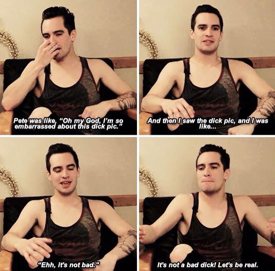 A drunk history of Fall Out Boy by Brendon Urie- I'm sorry I can't handle this I'm crying XD. If you ever need a laugh, watch it.