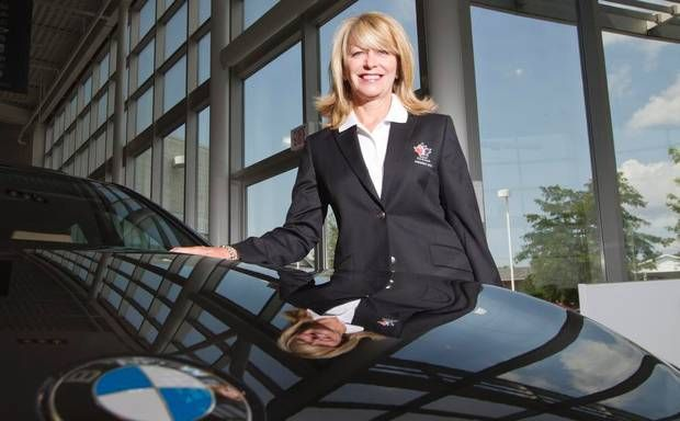 Diane Dunlop-Hebert, president of Golf Canada (the former Royal Canadian Golf Association), poses at the Groupe Park Avenue BMW dealership in Brossard, Que.As the president of Golf Canada, the governing body for the sport, Diane Dunlop-Hébert has a key role in promoting golf, encouraging more people to play, and helping to organize the two crucial professional championships. One of them, the CN Canadian Women's Open, begins play Monday in Vancouver. Read more in the story: Golf Canada's