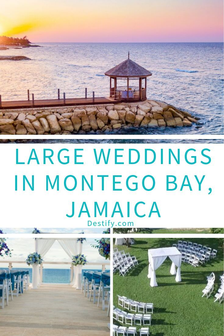 Large Weddings In Montego Bay Jamaica Destify Wedding Experts Destination Wedding Jamaica Jamaica Beach Wedding Montego Bay