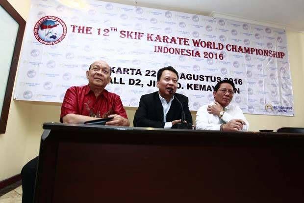 50 Negara Dipastikan Ikut Kejuaraan Dunia Karate SKIF di Kemayoran
