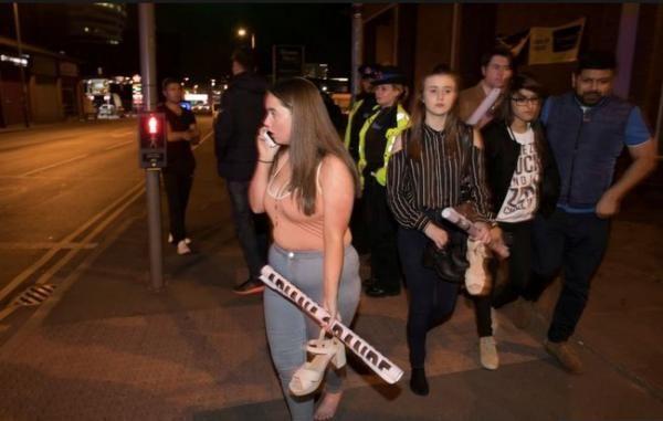 Penguasa Inggris Tangkapi Aktor Kunci Saat Meledaknya Bom Show Ariana Grande