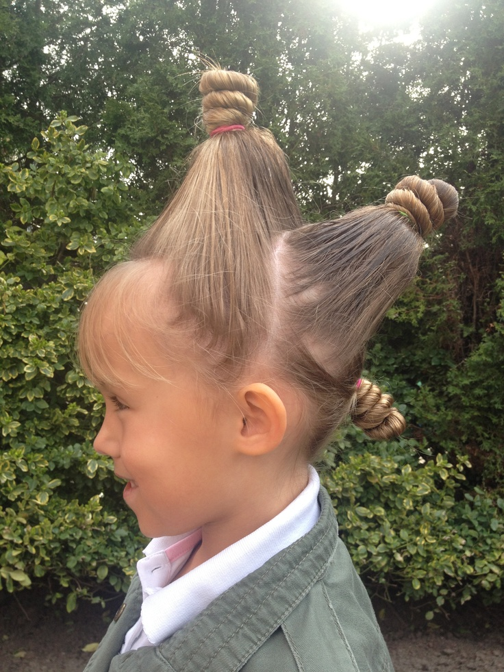 Excellent Crazy Hair Cute Girls Hairstyles And Crazy Hair Days On Pinterest Short Hairstyles For Black Women Fulllsitofus