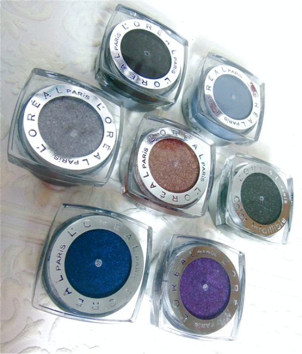 Lenallure: L'Oreal Infallible 24 HR Eye Shadows