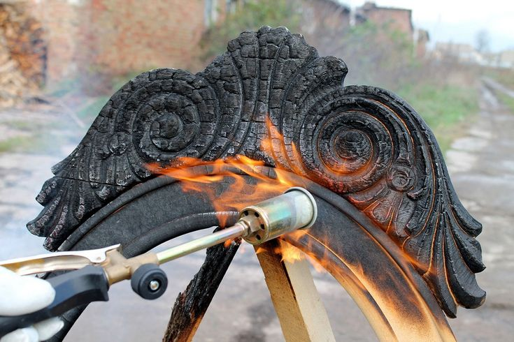 Jaw-Dropping Design Effects of Charred Wood Unveiled by Yaroslav Galant