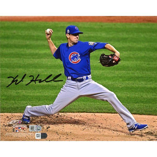 "Kyle Hendricks Chicago Cubs Fanatics Authentic 2016 MLB World Series Champions Autographed 8"" x 10"" World Series Photograph - $99.99"