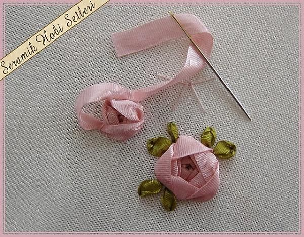 Ribbon Embroidery ♥ some picture tutorials