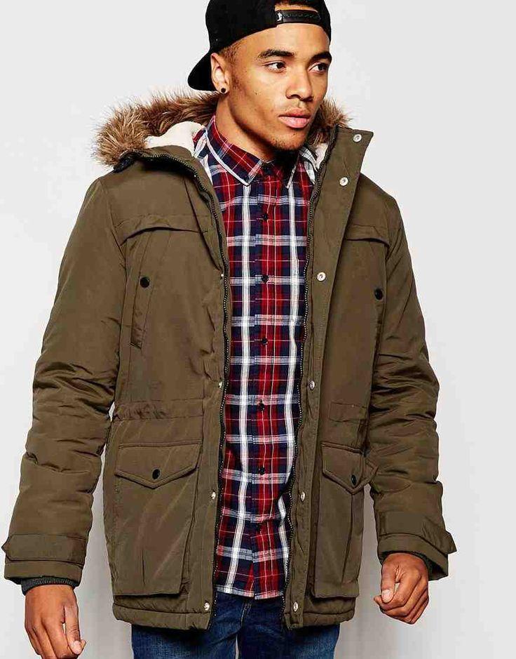 ASOS Men's Parka Jacket #MensFashion - I really want a parka.
