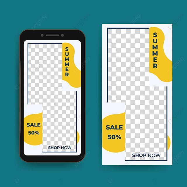 السائل المحمول الأصفر والأبيض قالب نشرة التطبيق صورة ناقلات للتحرير Background Design Vector Leaflet Template Background Design