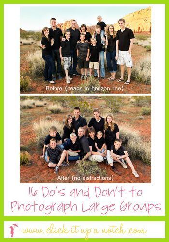 16 do's and don't to photograph large groups