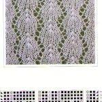 Образцы узоров для вязания