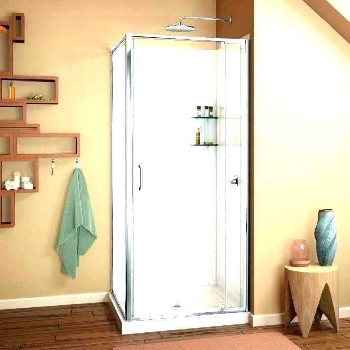Corner Shower At Stall Stalls Kits And With Glass Doors Corner
