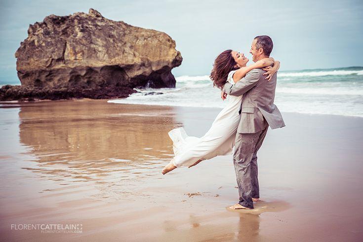 BIARRITZ // TRASH THE DRESS MARIAGE | Florent Cattelain