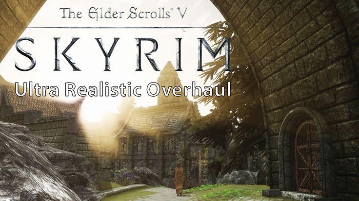 Skyrim – Ultra Realistic Overhaul Mod Collection vs. Vanilla Comparison ...