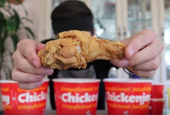 Jollibee Five 5 Bucket Fried Chicken Challenge Lewd Foods