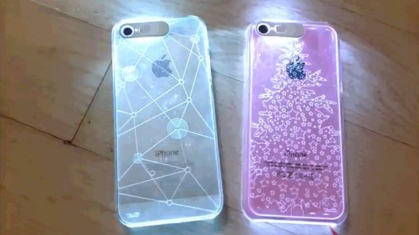 The VanD Flashing iPhone Cases Lights Up Decoratively #phonecases trendhunter.com