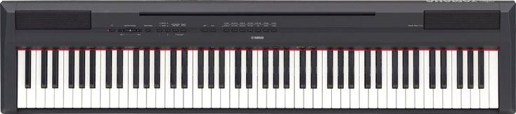 YAMAHA P115B 88 Key Digital Piano (Black)