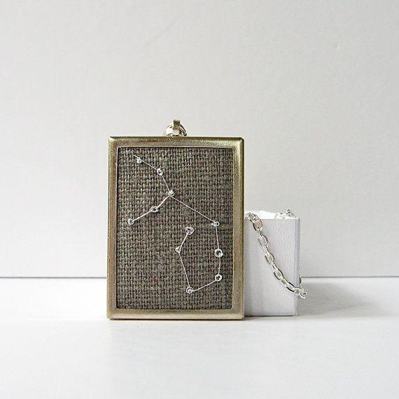 Virgo Necklace August September birthday gift by bstudio on Etsy, $28.00