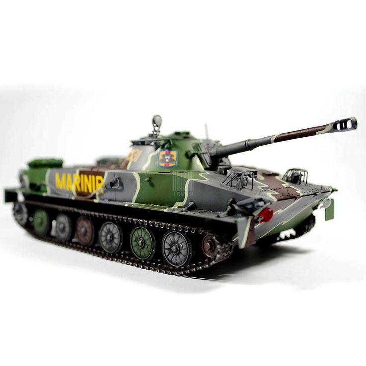 Tank PT-76 Marinir TNI-AL (Indonesia Marine Corps)