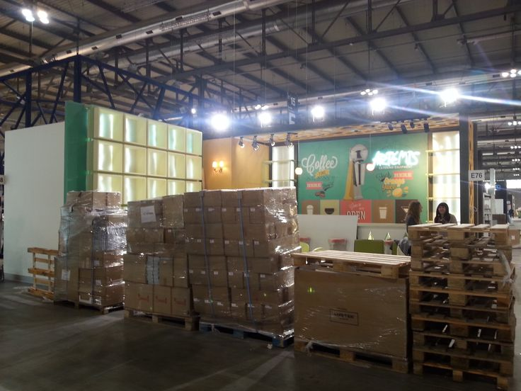 Constructing ARTEMIS MIXER booth, ready to unpack! http://bit.ly/1M3BqGa