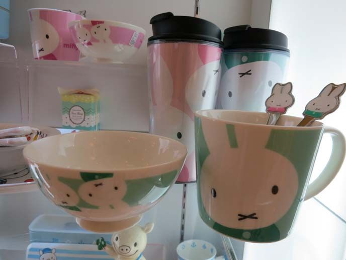 Miffy cup, miffy bento, miffy bowls, dick bruna miffy, fashion collection, TwoPercent Hong Kong, My goodness, there's a MIFFY store in Hong Kong! Want to see photos & learn more about the cute bunny clothing? Here you go... http://www.lacarmina.com/blog/2012/12/miffy-fashion-line-twopercent-hong-kong-dick-bruna-cute-bunny-rabbit-clothing-at-wtc-causeway-bay/