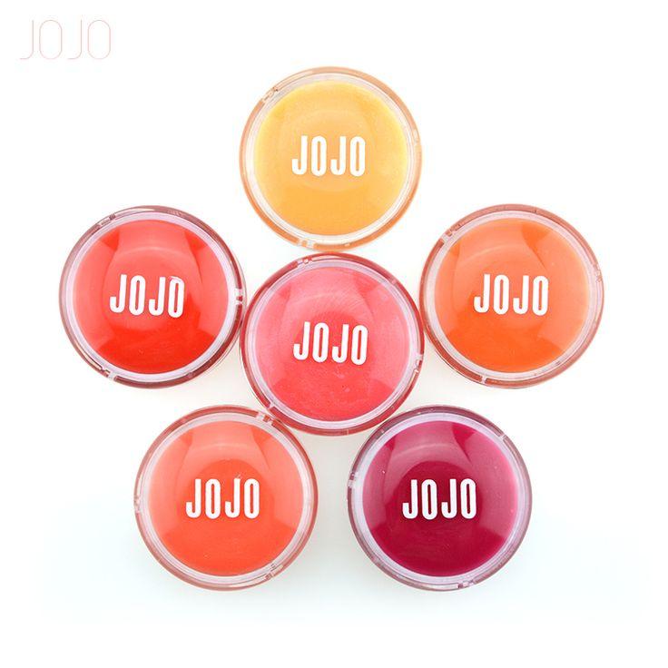 JOJO Lips Makeup Flowers Macaron Lip Gloss Waterproof Matte Liquid Lipstick Moisturizer Smooth Lip Stick Long Lasting Lips Gloss