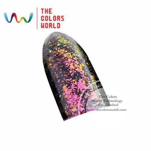 TCWB185 Chameleon Flakes Magic Effect Flakes large size chameleon  for nail Art  nail polish and  other DIY decoration