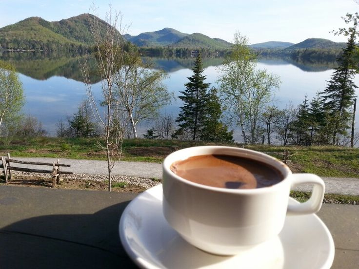Amazing view @ lac supérieur quebec