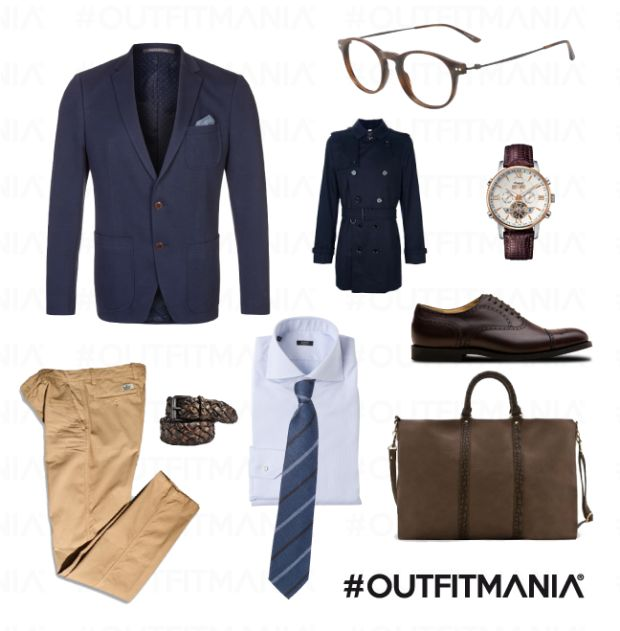 Elegante, informale e moderno: il gentleman di oggi...   #outfitmania #outfit #style #fashion #dresscode #amazing #man #marcopolo #camicia #cravatta #scarpe #look #orologio   CLICCA SULLA FOTO PER SCOPRIRE L'OUTFIT E COME ACQUISTARLO