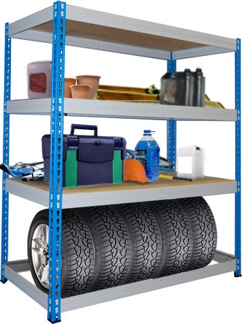 Главная :: СТЕЛЛАЖИ :: Стеллажи для гаража :: Стеллаж складской МКФ 15614-2,5