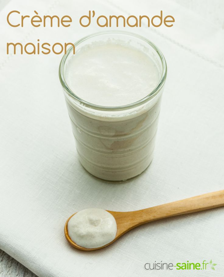 Comment faire de la crème d'amande maison ? Une version d'amande cuisine homemade c'est très facile, suivez la recette pas à pas en vidéo.