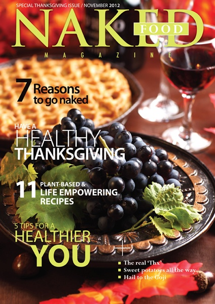 17 best naked food magazine issues images on pinterest naked food naked food magazine thanksgiving edition fandeluxe Gallery