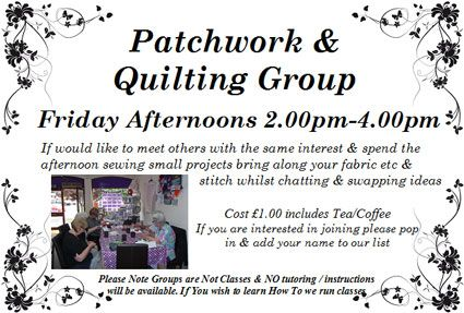 Patchwork & Quilting Group