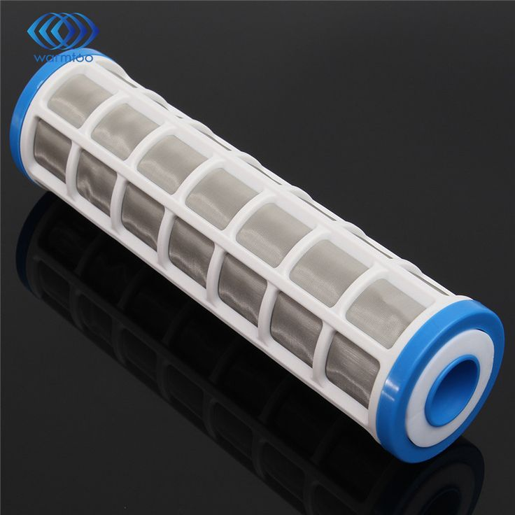 10 inch Water Filter 250mm Filter Core 40 Microns Stainless Steel Wire Mesh Pre Water Filter Home Appliances