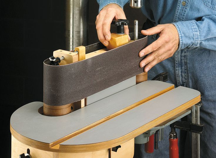 Drill Press Belt Sander Woodsmith Plans No space for a
