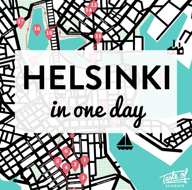 Got just one day to visit Helsinki and you don't know what to do?