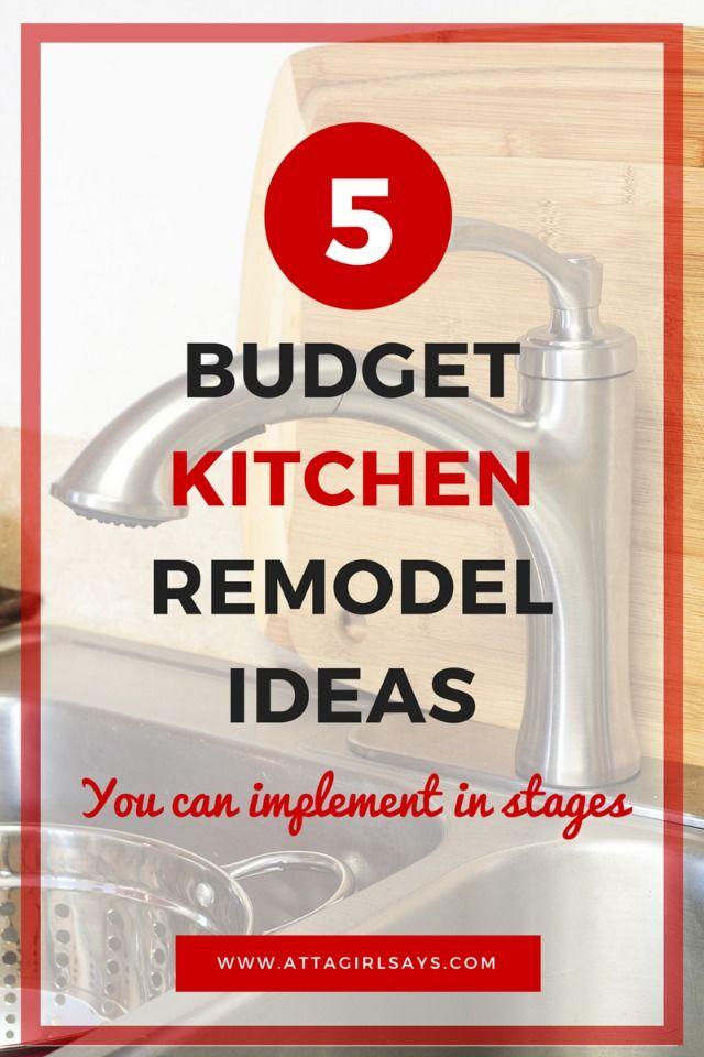 best 25 budget kitchen remodel ideas on pinterest diy kitchen makeover cheap kitchen remodel. Black Bedroom Furniture Sets. Home Design Ideas