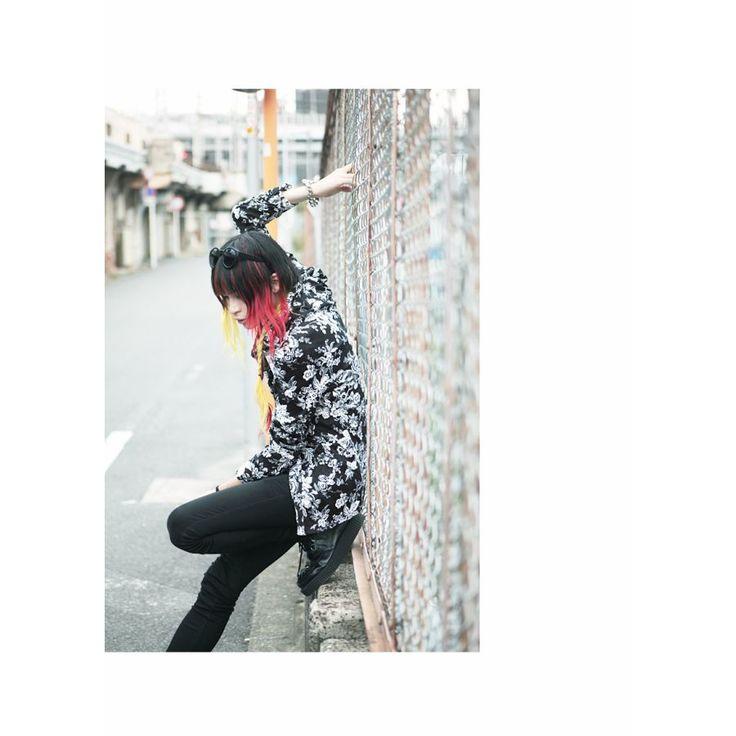 ◆SEANA(シーナ) ワイヤーカラー花柄クリンクル長袖シャツ◆シャツ 長袖 ヴィジュアル系 V系 ビジュアル系 お兄系 メンズ長袖シャツ ホスト シャツ パンク ロック 黒服 Vホス メンズ ファッション 服 トップス クリンクル しわ加工 花柄 秋 冬秋冬/秋冬 6