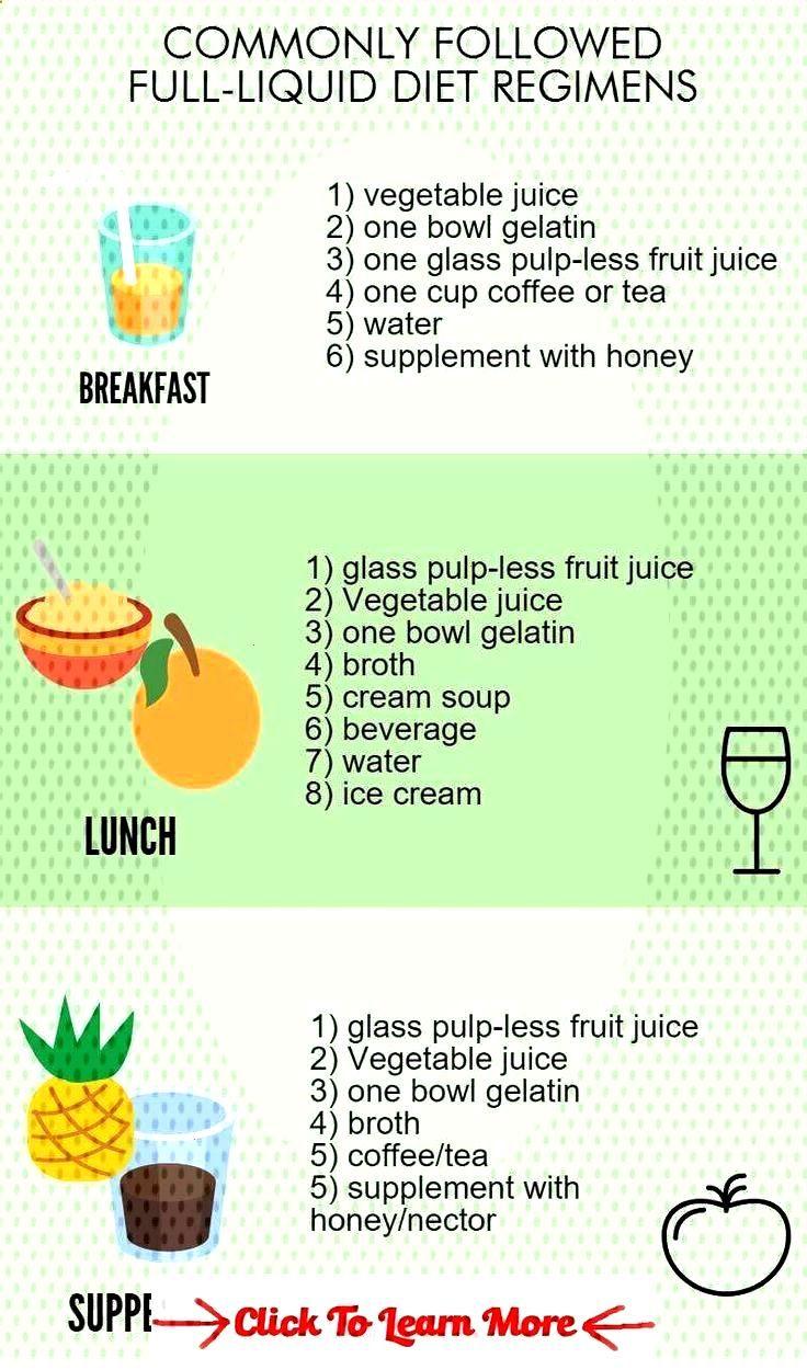 full liquid diet foods recipes
