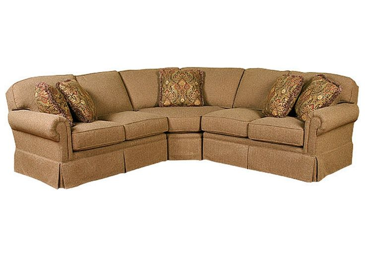 King Hickory Living Room Bentley Fabric Sectional 4400 SECT   Hickory  Furniture Mart   Hickory, NC | Couches | Pinterest | Fabric Sectional,  Hickory ...