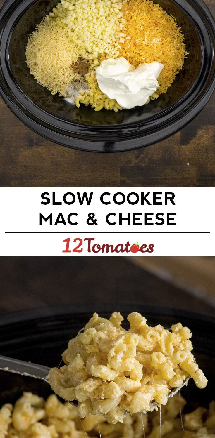 The Easiest Slow Cooker Macaroni And Cheese